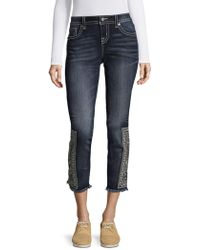 ec6057cc Urban Renewal Washed-out Destroyed Levi's 501 Jean in White - Lyst