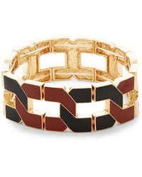 Natasha Couture - Stretch Link Bracelet - Lyst
