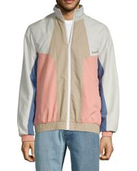 Barney Cools - Contrast Front-zip Track Jacket - Lyst