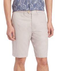 Saks Fifth Avenue - Cotton & Linen Shorts - Lyst