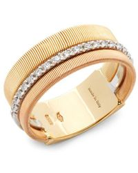 Marco Bicego - Diamond And 18k Gold Ring - Lyst