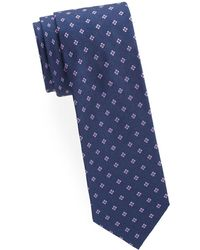 Brioni - Floral Silk Tie - Lyst