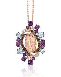 Le Vian - Crazy Semi-precious, Multi-stone And 14k Strawberry Gold Pendant Necklace - Lyst
