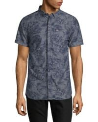 Superdry - Floral Short-sleeve Shirt - Lyst