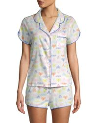 Jane And Bleecker - Multicolored Two-piece Pajama Set - Lyst