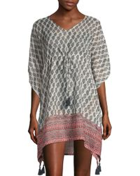 Beach Lunch Lounge - Paisley Cover-up Dress - Lyst