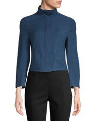 Akris - Charme Textured Jacket - Lyst