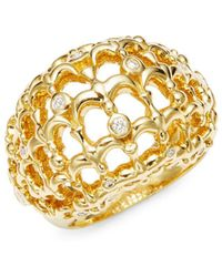 Temple St. Clair - Tol 18k Yellow Gold Bombe Bird - Lyst