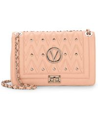 Valentino By Mario Valentino - Alice Studded Leather Shoulder Bag - Lyst