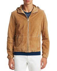 10ff901e7169 Lyst - Michael Kors Hooded Puffer Jacket in Purple for Men