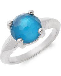 Ippolita - Wonderland Sterling Silver & Clear Quartz Solitaire Ring - Lyst