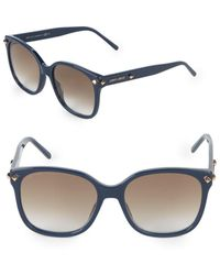 c26d672b122 Lyst - Jimmy Choo Tatti 58mm Oversized Sunglasses