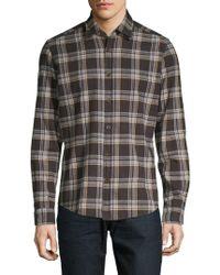 BOSS - Lal 47 Regular-fit Plaid Shirt - Lyst