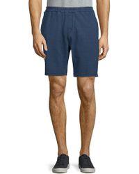 Slate & Stone - Knit Denim Shorts - Lyst