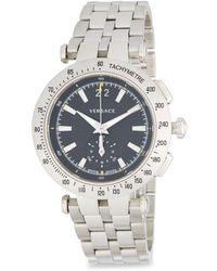Versace - Stainless Steel Five-link Bracelet Watch - Lyst