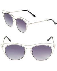 Fantaseyes - 51mm Aviator Sunglasses - Lyst