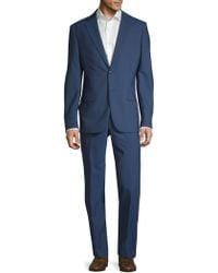 John Varvatos - Slim-fit Wool Suit - Lyst
