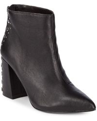 Steve Madden - Lewis Studded Leather Booties - Lyst