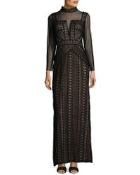 Tadashi Shoji - Embroidered Laced Gown - Lyst