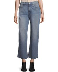 3x1 - Shelter Crop Wide-leg Jeans - Lyst