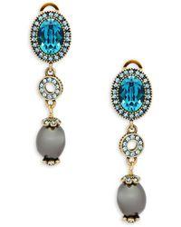 Heidi Daus - Crystal Baroque Beaded Drop Earrings - Lyst