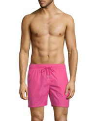 Jared Lang - Classic Swim Shorts - Lyst