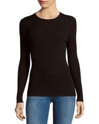 Adam Lippes - Solid Ribbed Cutout Top - Lyst
