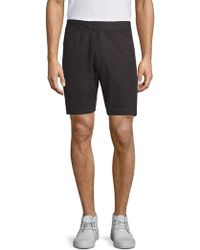 Officine Generale - Solid Faded Deck Shorts - Lyst