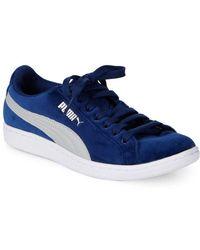 0a5b7da6d Lyst - PUMA Vikky Mesh Sneakers Shoes in Blue for Men