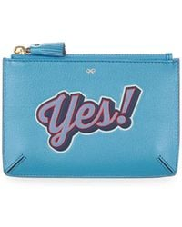Anya Hindmarch - Yes Leather Loose Pocket - Lyst
