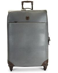 """Bric's - 30"""" My Safari Leather Packing Case - Lyst"""