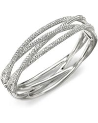 Adriana Orsini - Pavà Intertwined Bangle Bracelet - Lyst