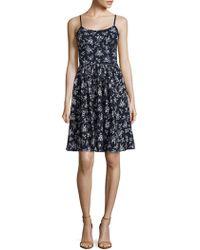 Maggy London - Cotton Floral Petite Dress - Lyst