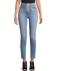 Hudson Jeans - Lace-up Jeans - Lyst