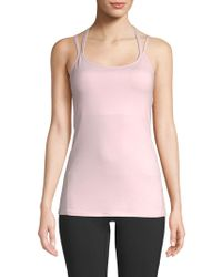 a50bbe806a Lyst - Gaiam Stella Strappy-back Tank Top in Gray
