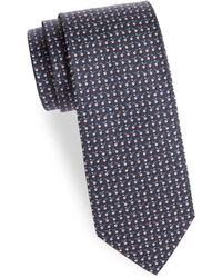 Ferragamo - Graphic Silk Tie - Lyst