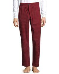 CALVIN KLEIN 205W39NYC - Checkered Pajama Pants - Lyst