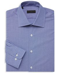 Ike By Ike Behar - Dotted Long-sleeve Dress Shirt - Lyst