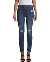 Miss Me - Distressed Skinny Jeans - Lyst