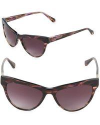 Zac Posen - Farrow 55mm Square Sunglasses - Lyst