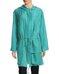 Equipment - Hooded Long-sleeve Jacket - Lyst