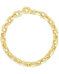 Saks Fifth Avenue - 14k Yellow Gold Chain Bracelet - Lyst