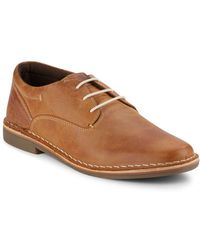 Steve Madden - Leather Oxfords - Lyst