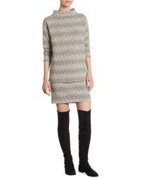 Akris - Stretch Jersey Mini Skirt - Lyst