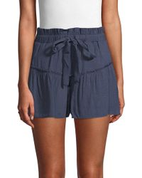 English Factory - Ruffled Skort - Lyst