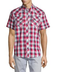 d80bb4475 True Religion Western Casual Button-down Shirt for Men - Lyst