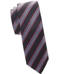 Missoni - Slim-fit Striped Silk Tie - Lyst