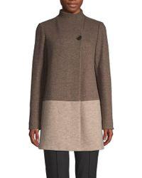 Lafayette 148 New York - Valina Virgin Wool Blend Coat - Lyst
