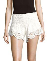 Winston White - Baja Scalloped Shorts - Lyst