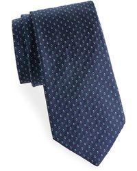 Saks Fifth Avenue - Two-tone Dot Silk Tie - Lyst